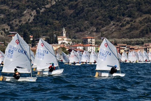KINDER CUP 2018 OPTIMIST D'ARGENTO