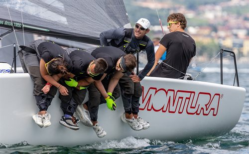 2018 Melges 24 European Sailing Series in Torbole - Day One