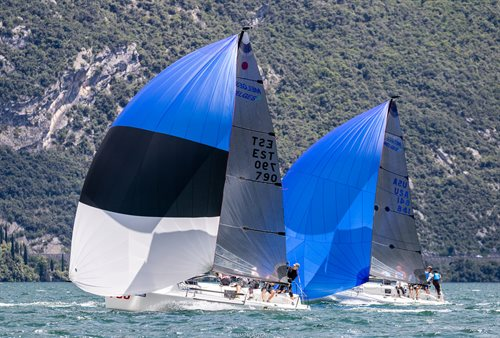 2018 Melges 24 European Sailing Series in Torbole - Day 3: