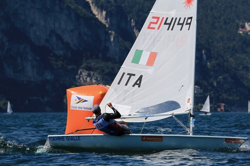 Laser Europa Cup day 2
