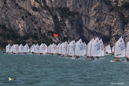 Day 2 Trofeo optimist d'Argento