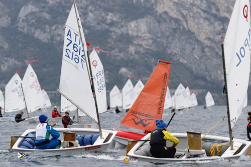 Halloween Cup Optimist 2019, the Trophy to JK Jadro Koper