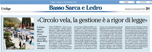 "Local Newspaper ""l'Adige"""