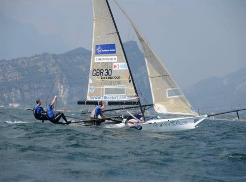 CAMPIONATO EUROPEO 18 FT SKIFF