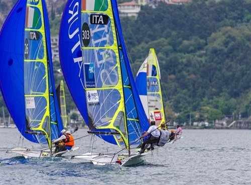 MASTER WORLD CUP 49-ER GARDA TRENTINO CUP FOR 49-ER AND 49-ER FX