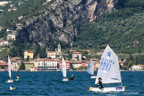 OPTIMIST D'ARGENTO - Pre Opti Worlds